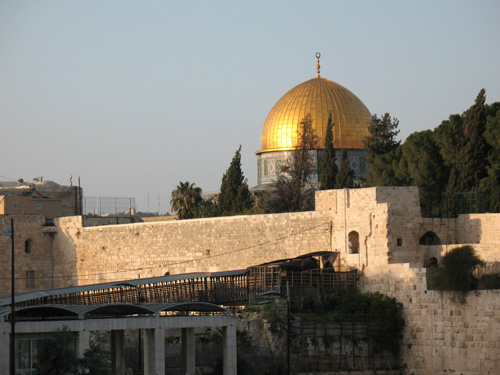 Entrance to the Temple Mount